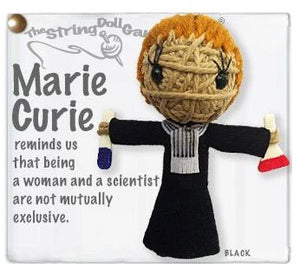 Marie Curie String Doll