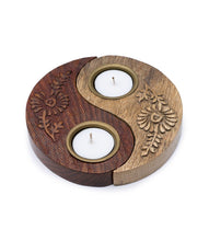 Load image into Gallery viewer, Ying & Yang Tea Light Holder