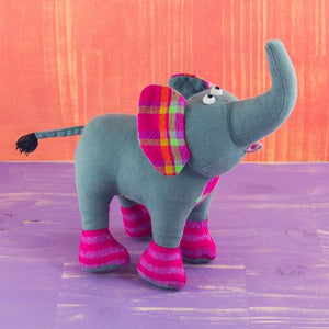 Fabric Plush Elephant