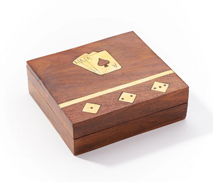 Rose Wood Game Night Box