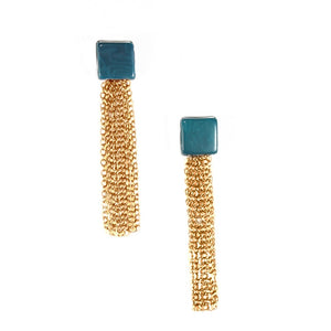 ZDNO Samantha Earrings – Midnight