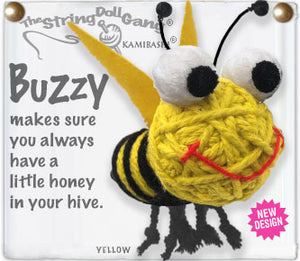 Buzzy String Doll