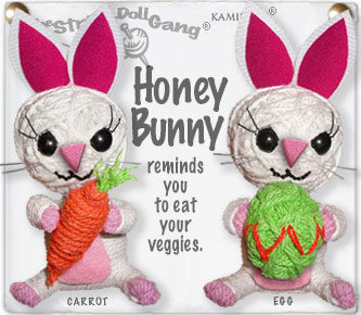 Honey Bunny String Doll Carrot