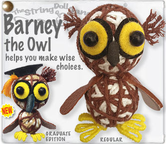 Barney the Owl String Doll