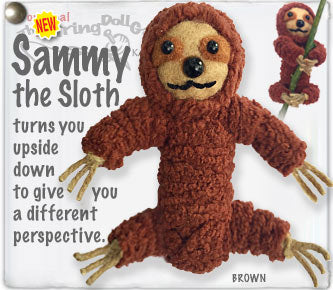 Sammy the Sloth String Doll