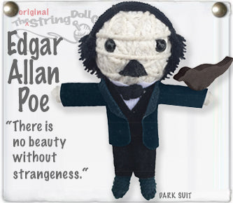 Edgar Allan Poe String Doll