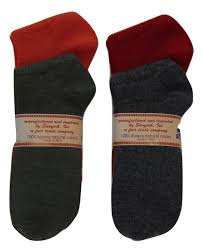 Two Pack Solid Color Casual 100% Alpaca Warm Light Socks Size Small 5-7