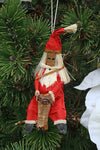 Santa Claus Drummer Holiday Ornament