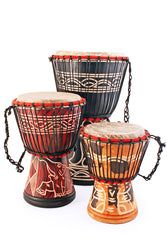 Ghanian Djembe Hand Drum - Medium