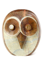 Load image into Gallery viewer, Wide Eyed Stone Owl