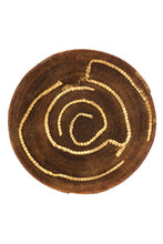 Load image into Gallery viewer, Antique Zambian Makenge Wedding Basket with Corn Husk Repairs