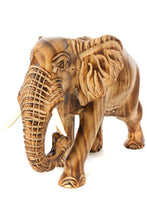 Load image into Gallery viewer, Kenyan Jacaranda Wood Jumbo Elephant