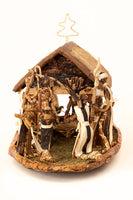 Load image into Gallery viewer, Blessed Birth Banana Fiber Nativity Scene