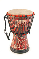 Load image into Gallery viewer, Ghanian Djembe Hand Drum - Medium