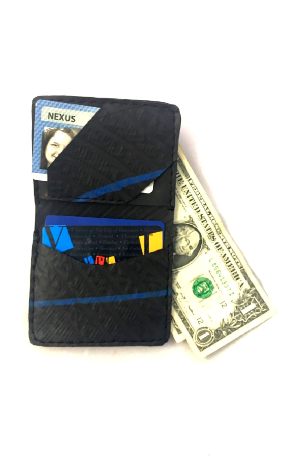 Wallet Recycled Tire