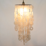 Load image into Gallery viewer, Capiz Chime Chandeliers