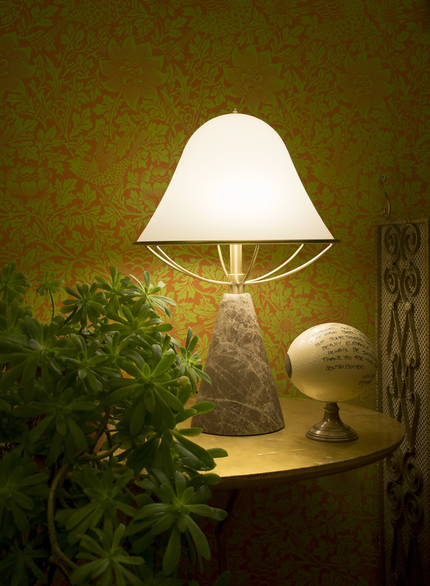 Replacement glass shade for Anita lamp