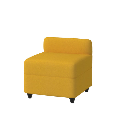 Angolo Pouf with backrest