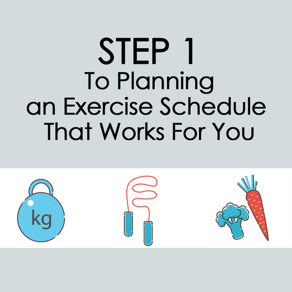 Creating an Exercise Training Schedule that Works!