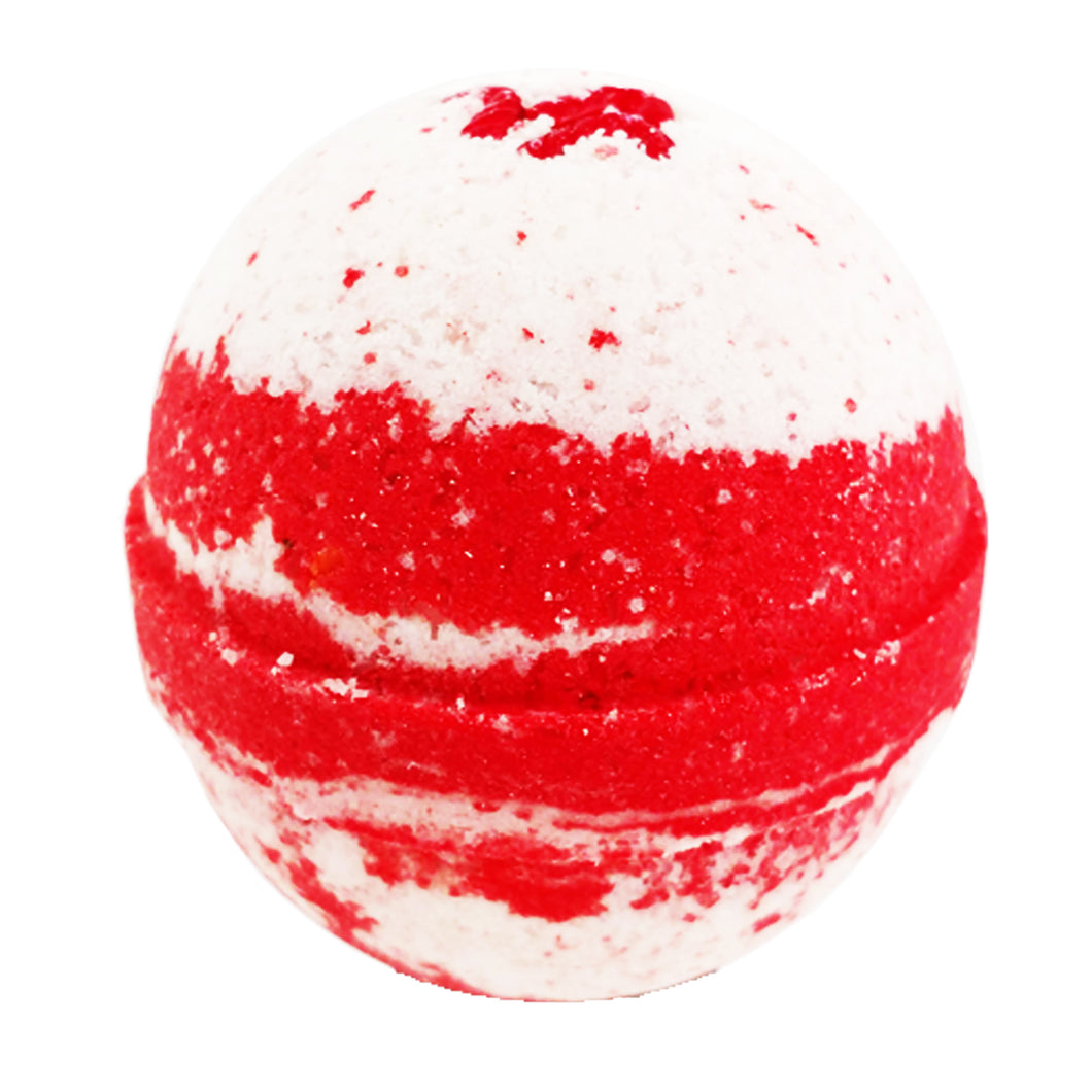 Candy Cane Bath Bomb 6.5oz
