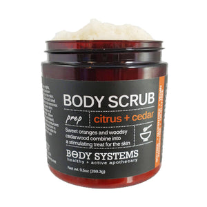 Citrus + Cedar Body Scrub