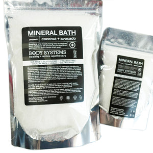 Coconut + Avocado Mineral Bath Soak