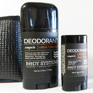Citrus + Tea Tree Natural Deodorant