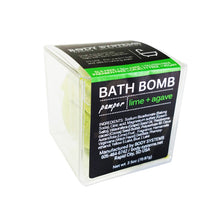 Load image into Gallery viewer, Lime + Agave Bath Bomb 3oz