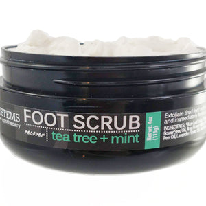 Tea Tree + Mint Foot Scrub