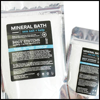 Load image into Gallery viewer, Sea Salt + Kelp Mineral Bath Soak