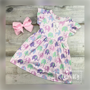 Ella the Elephant Dress
