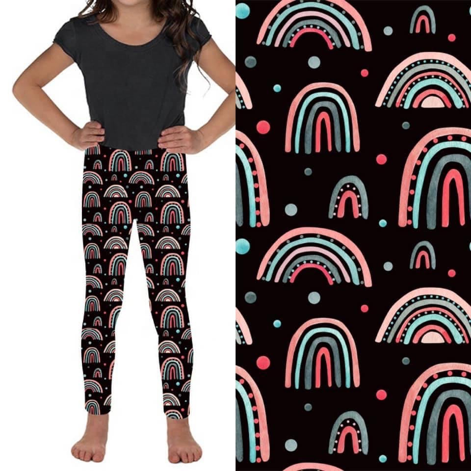 Over The Rainbow Mommy and Me Leggings - Whim & Wonder Boutique