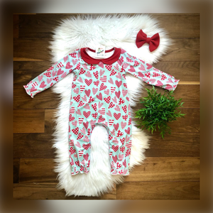 Be My Valentine Infant Romper