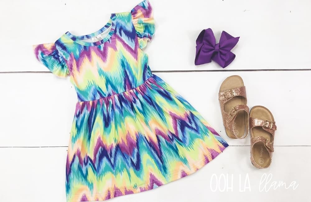 Groovy Girl Dress for Girls - Whim & Wonder Boutique
