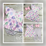Load image into Gallery viewer, Ella the Elephant 2pc Capri Set