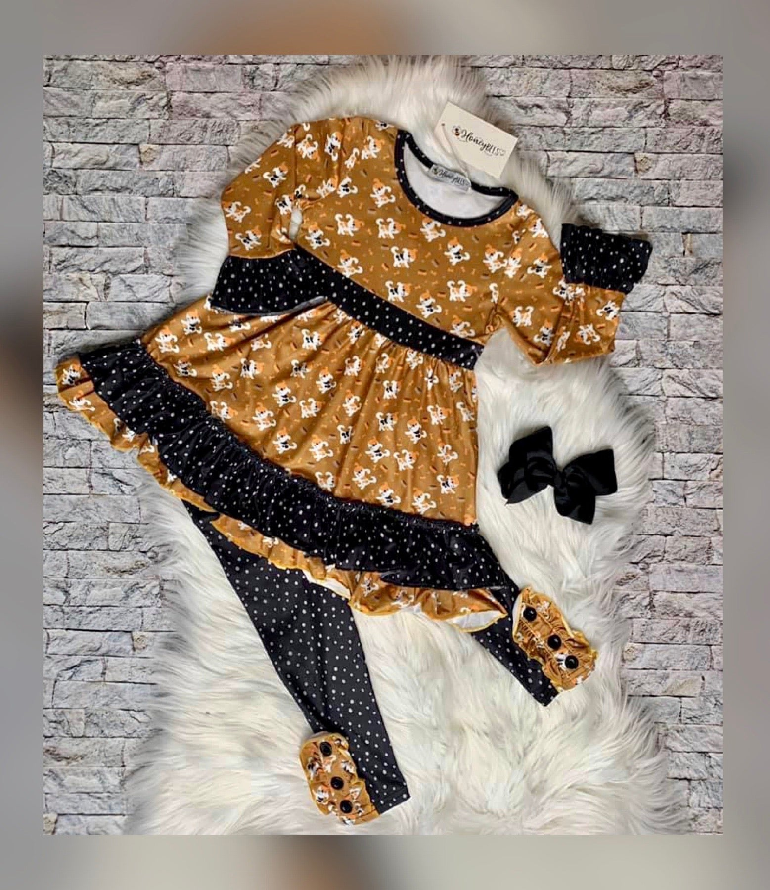 Playful Puppies Two Piece Set