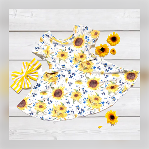 Dainty Little Sunflowers Dress