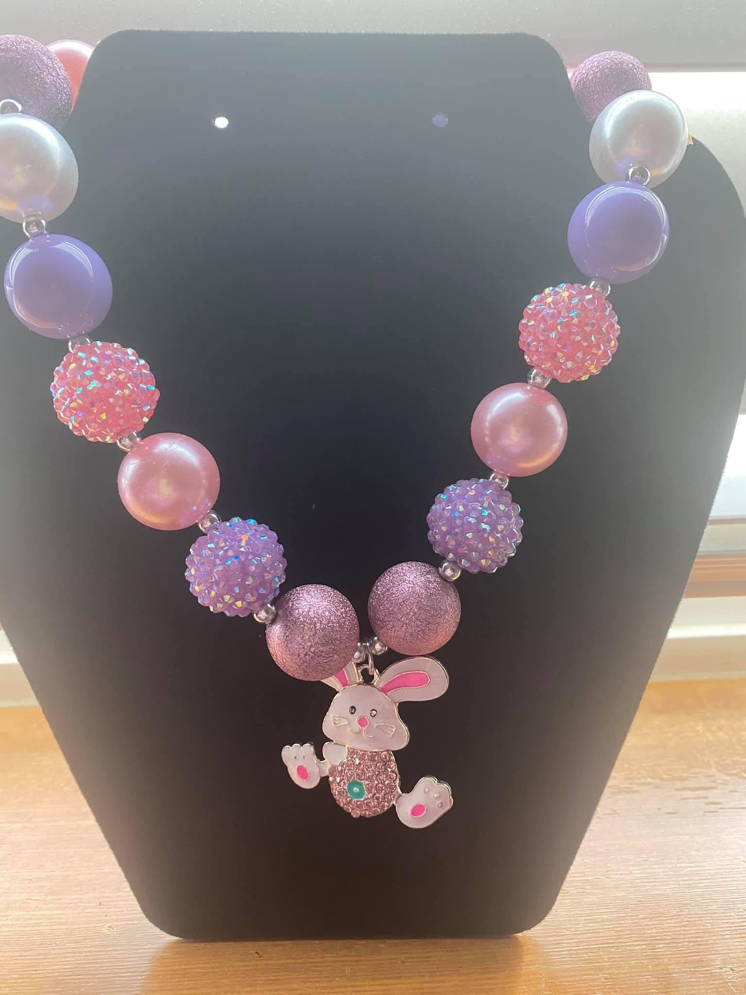 Bunny Bubblegum Necklace