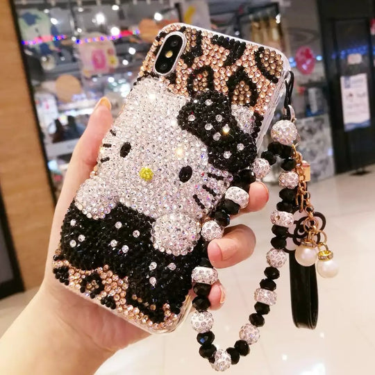 Jumbo Bling Hello Kitty Case