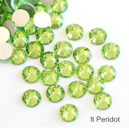 LIGHT PERIDOT FlatBack Stones