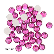 Load image into Gallery viewer, FUSCHIA FlatBack Stones