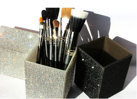 Diamond Makeup Brush Holder