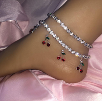 Cherry Ice Anklet