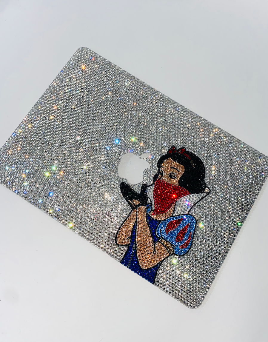 Custom Crystal Laptop Cover