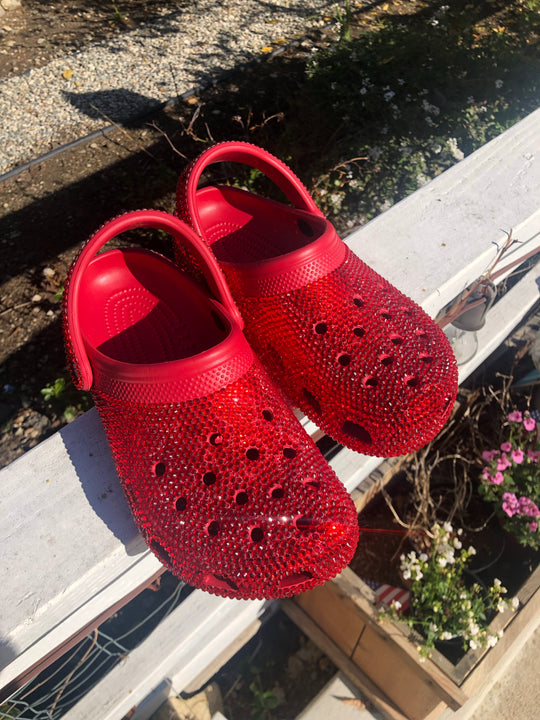 Crystalized Crocs