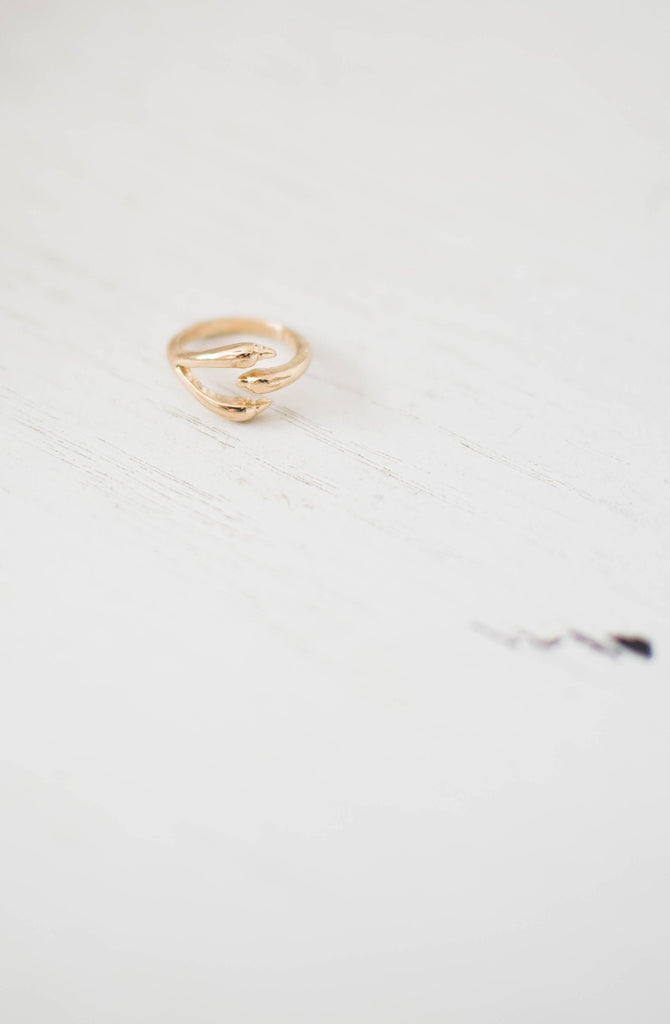 Eagle Claw Knuckle Ring