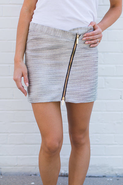 Whitney Eve Tweed Skirt