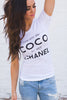 CoCo to My Chanel top