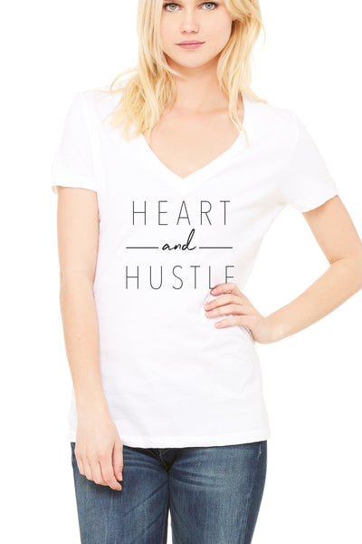 Heart & Hustle tee | Collab w/ @leahremillet