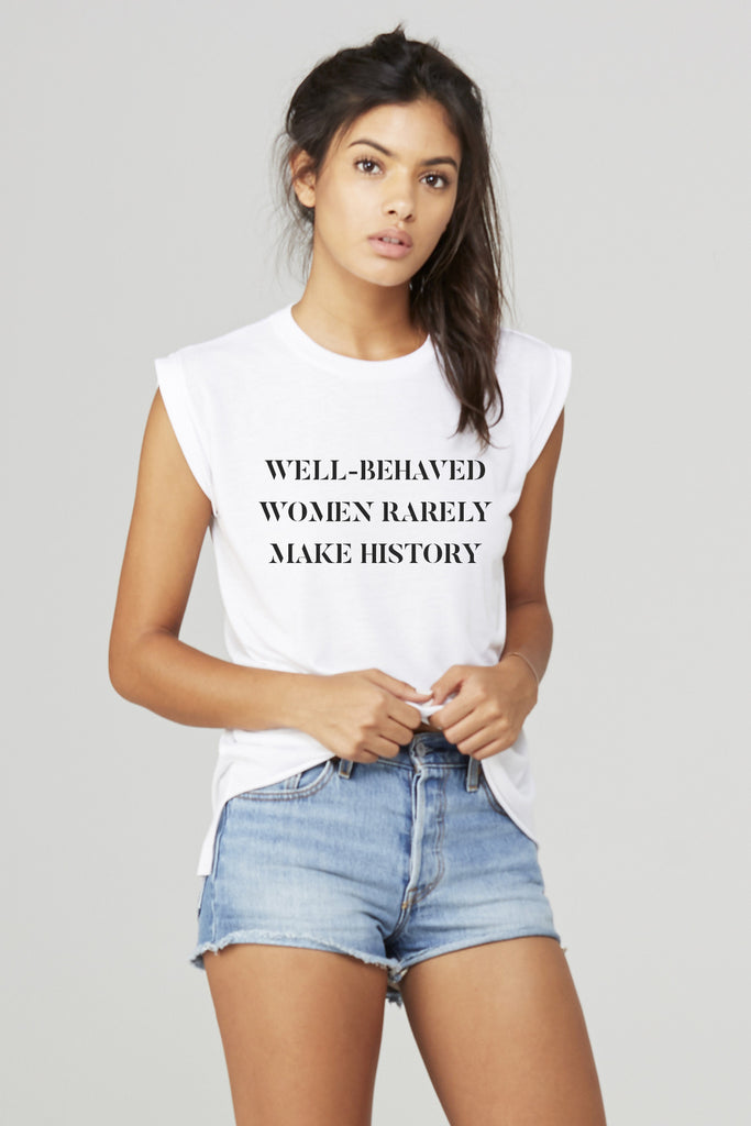 APRIL Limited Edition Tee: Well-Behaved Women